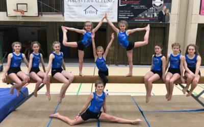 NGK-Turnerinnen dominieren Bezirksfinale