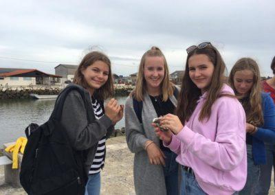 ... noch Austern probieren. (Fotos: privat/NGK 2019)