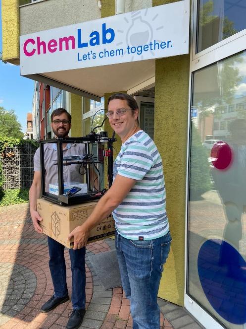 Norbert-Gymnasium erhält drei 3D-Drucker