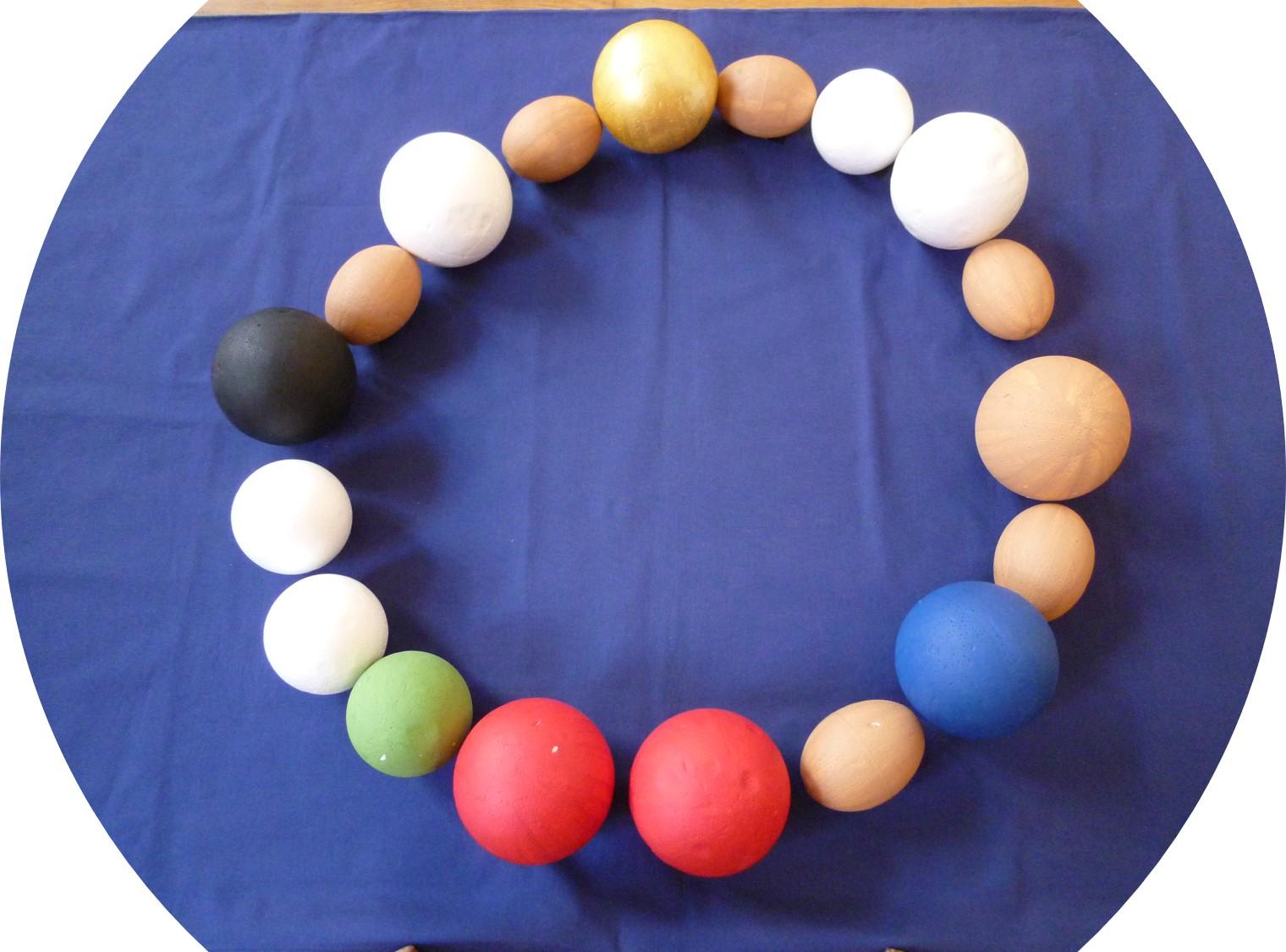 """Projekttage """"Perlen des Glaubens"""" für die Jahrgangsstufe 5 im September und Oktober 2020"""