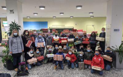 384 Geschenkpakete für Rumänien