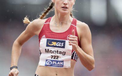 Tanja Spill und Jenny Montag zur Leichtathletik Hallen-EM
