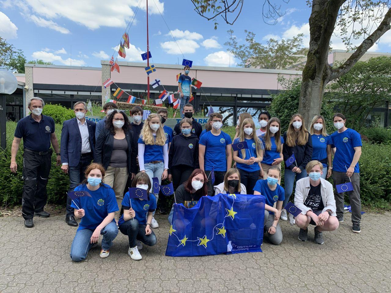 Erlebtes Europa: Erster Virtueller Schüleraustausch am NGK mit fast 80 TeilnehmerInnen