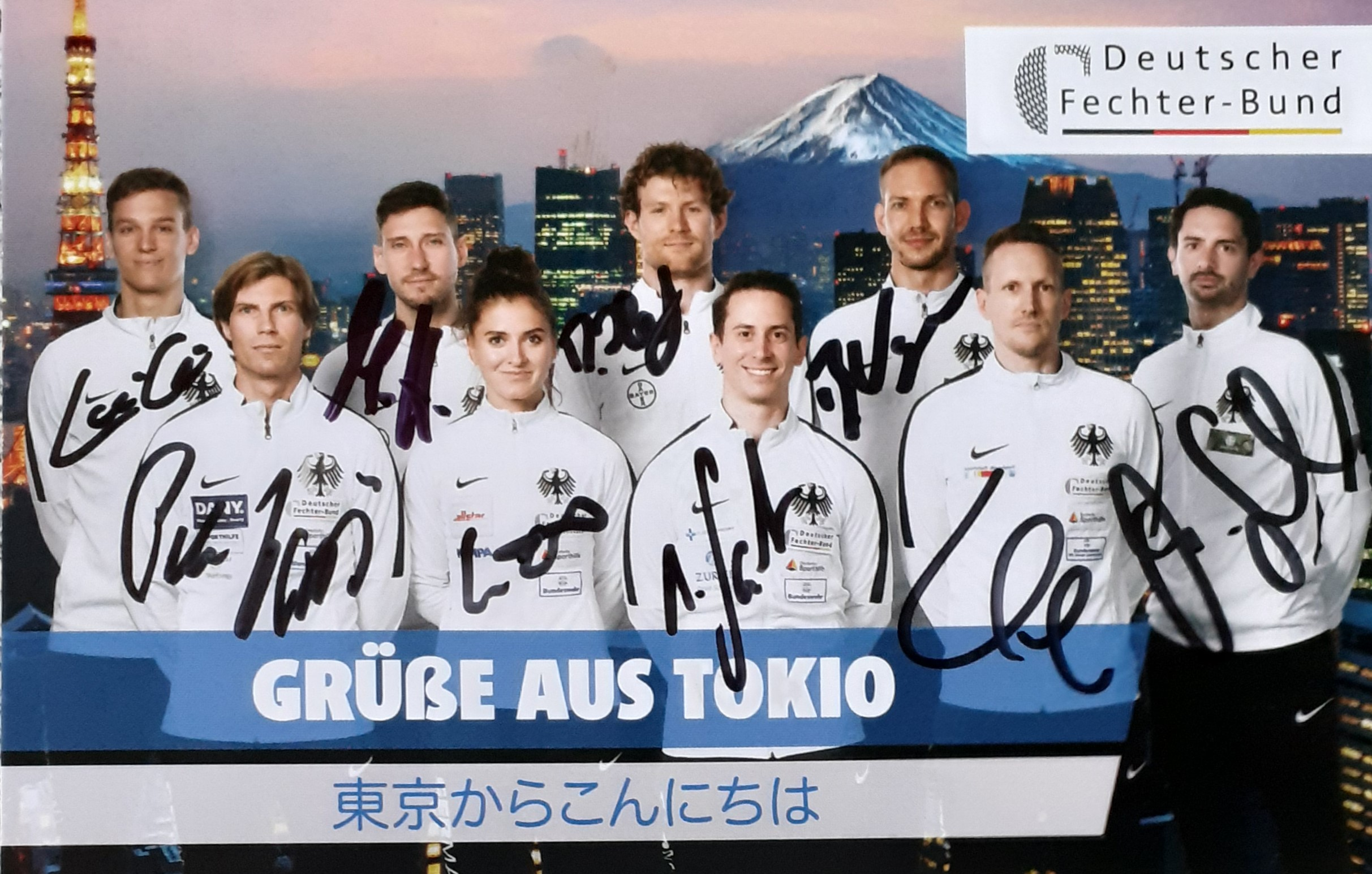 Olympische Grüße aus Tokio an das NGK