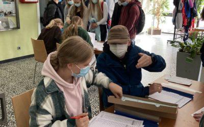 Juniorwahl 2021 – Die Schülerinnen und Schüler des NGK haben gewählt