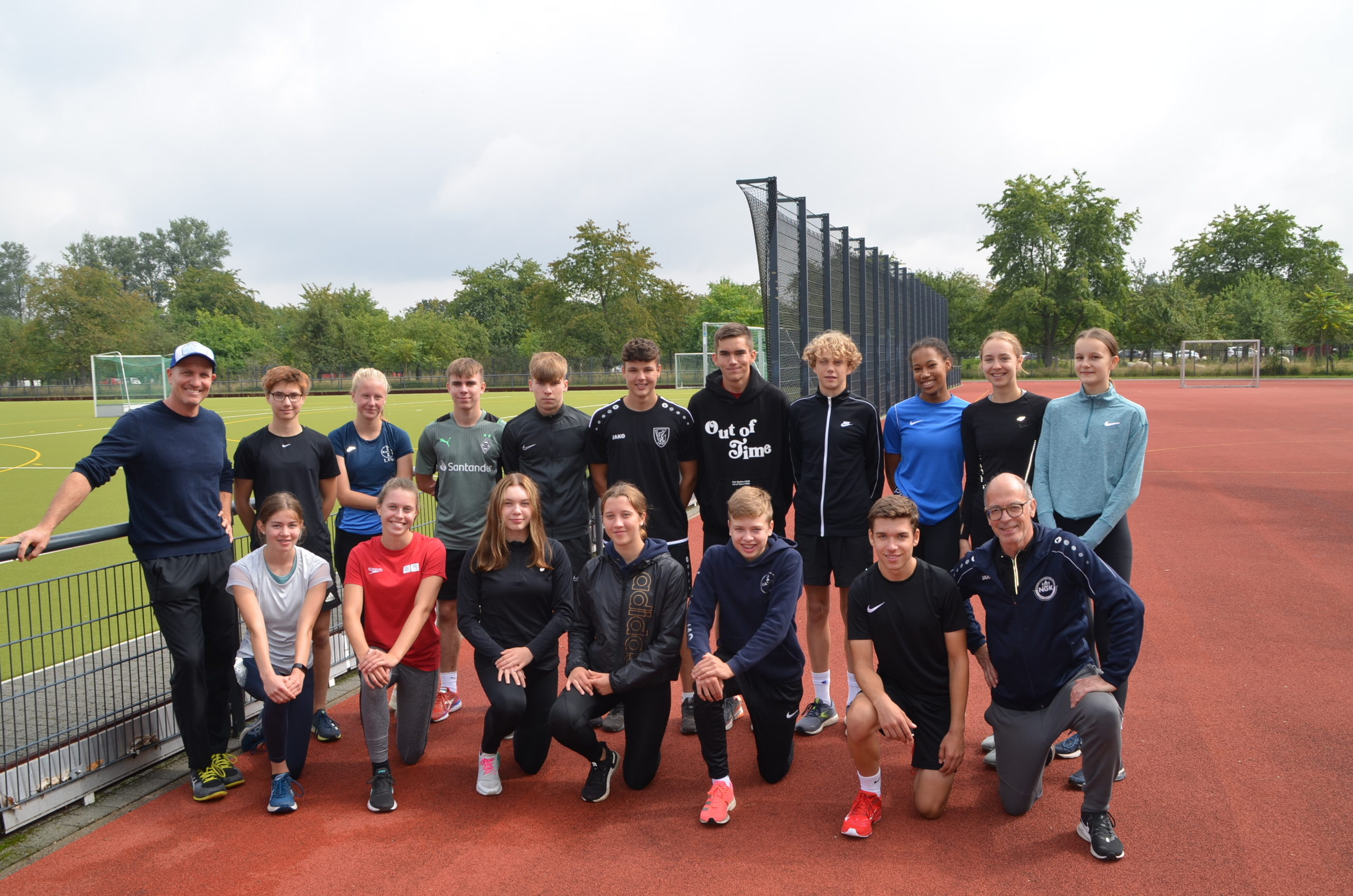Schulsportstafette - NGK-Team Leichtathletik